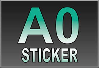 A0 Waterproof Stickers