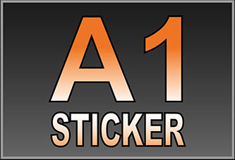 A1 Waterproof Stickers