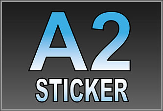 A2 Waterproof Stickers